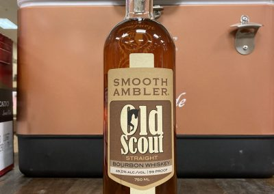 OLD SCOUT SINGLE BARREL BOURBON
