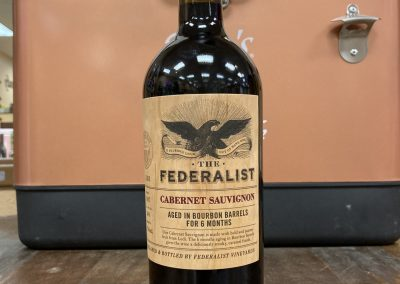 The Federalist Bourbon Barrel Aged Cabernet Sauvignon