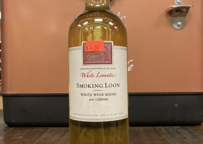 Smoking Loon White Loonatic