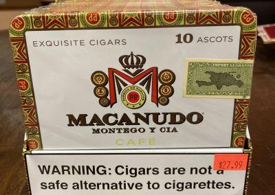 Macanudo Ascots Cafe Tins