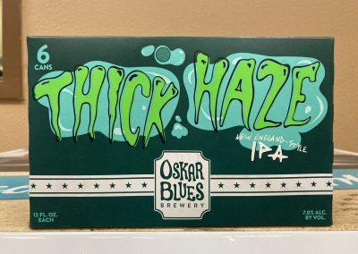 Oskar Blues Thick Haze