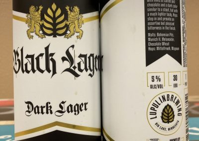 Lupulin Black Lager