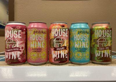 House Wine Cans