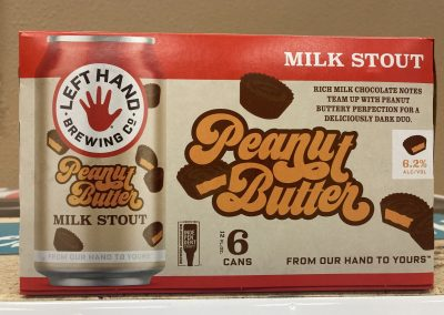 Left Hand Peanut Butter Milk Stout
