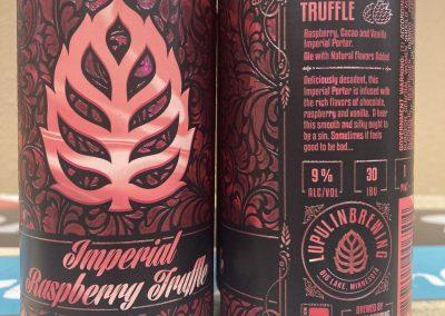 Lupulin Imperial Raspberry Truffle