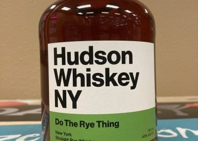 Hudson Whiskey Do The Rye Thing