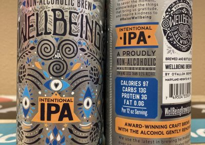Wellbeing Intentional IPA (non-alcoholic)