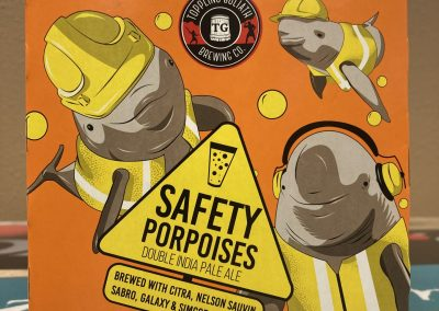 Toppling Goliath Safety Porpoises