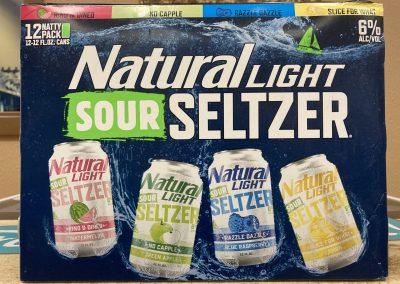 Natural Light Sour Seltzers