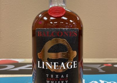 Balcones Lineage Texas Single Malt Whisky