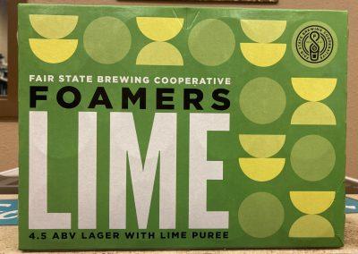 Fair State Foamers Lime
