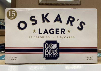 Oskar Blues Oskar's Lager