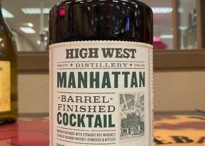 High West Manhattan Barrel Finished Cocktail