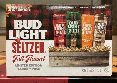 Bud Light Seltzer Fall Flannel Pack