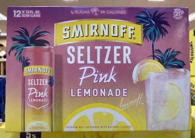 Smirnoff Seltzer Pink Lemonade