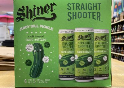 Shiner Straight Shooter Juicy Dill Pickle Seltzer